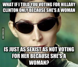Hillary vote