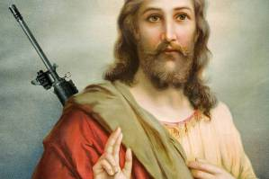 jesus-with-a-gun
